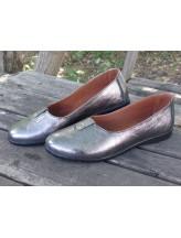Женские туфли Haries 119 серебро