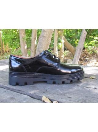 Женские туфли Haries 260/6 лак черный