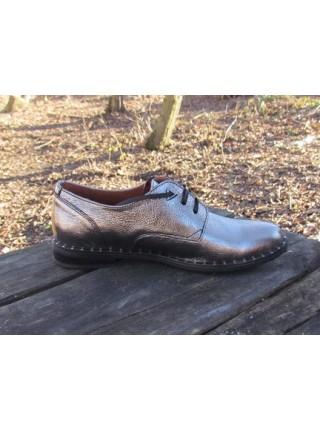 Женские туфли Haries 260гвозди серебро