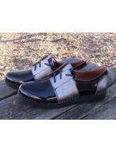 Женские туфли Haries 270гвозди лак черный