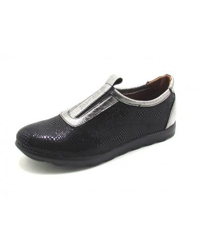 Женские туфли Haries 355 арбуз черный
