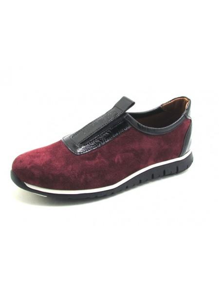 Женские туфли Haries 355 замш бордо