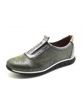 Женские туфли Haries 355 оливка перламутр