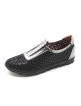 Женские туфли Haries 355/1 арбуз черный