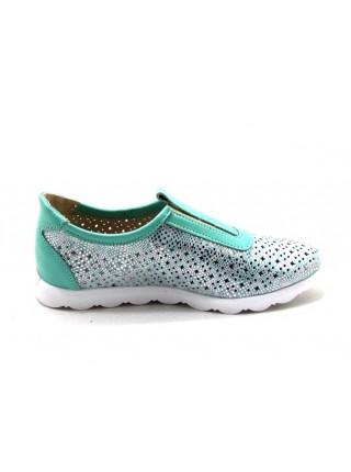 Женские туфли Haries 355/1 мята золото