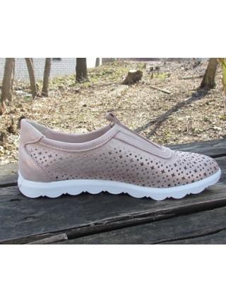 Женские туфли Haries 355/1 лилу перламутр