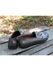 Женские туфли Haries 124/2 фл. оливка перламутр