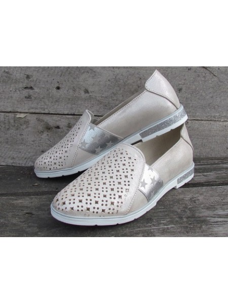 Женские туфли Haries 115/2К беж бензин