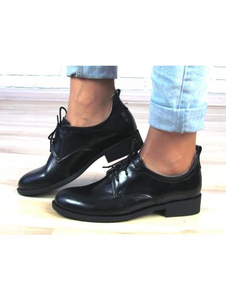 Женские туфли Haries 280 лак черный