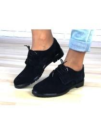Женские туфли Haries 260 черная замша