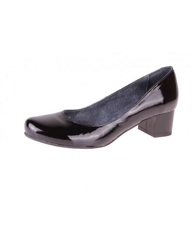 Женские туфли Haries 418 лак черные