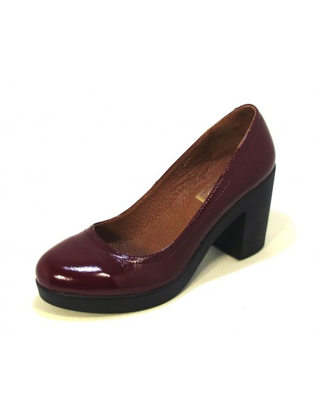 Женские туфли Haries 618 лак бордо