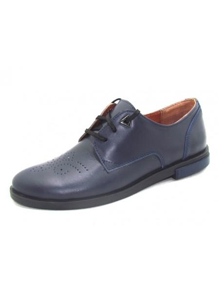 Женские туфли Haries 260/1 кожа синий