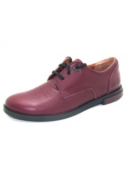 Женские туфли Haries 260/1 кожа бордо